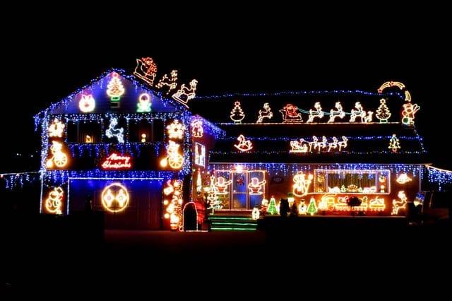 Tidsmæssigt LED lys til juletiden DD-51