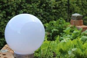 udendørs led lampe med sensor