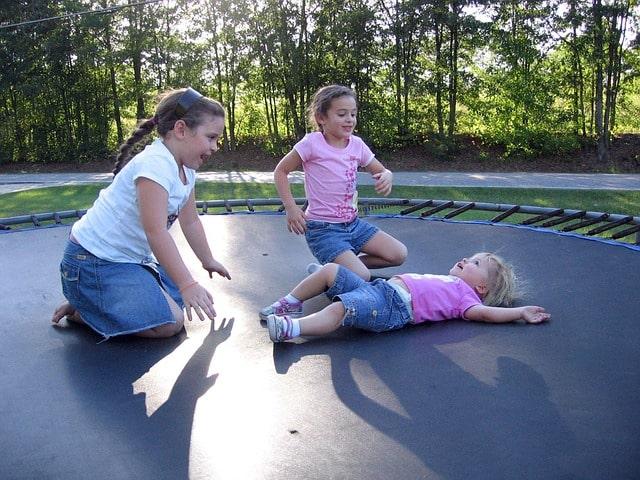 Stor besparelse på trampolin til nedgravning online